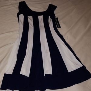 connected apparel Dresses - Connected Apparel Petite Striped Dress